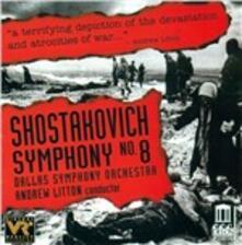 Sinfonia n.8 - CD Audio di Dmitri Shostakovich