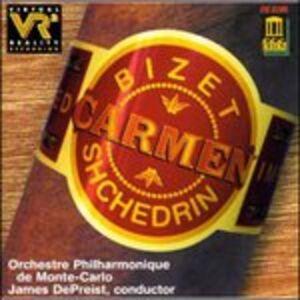 Foto Cover di The Carmen Ballet, CD di Rodion Shchedrin, prodotto da Delos