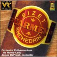 The Carmen Ballet - CD Audio di Rodion Shchedrin