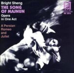Foto Cover di The Song of Majnun, CD di Bright Sheng,John Holmquist, prodotto da Delos