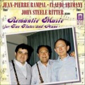 CD Musica Romantica per Due Flauti e Pianoforte