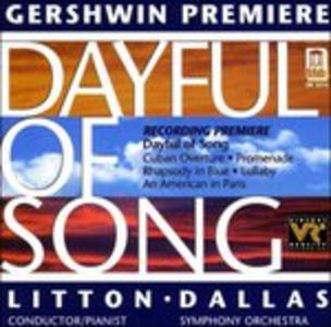 CD Dayful of Song, Cuban Overture, Promenade, Rhapsody in Blue, Lullaby di George Gershwin
