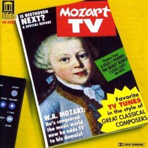 Foto Cover di Mozart TV - Favorite TV Tunes in the Style of Great Classical Composers, CD di Grant Gershon, prodotto da Delos