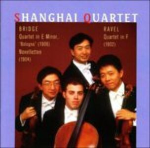 CD Quartetto per Archi in Fa Maggiore di Maurice Ravel