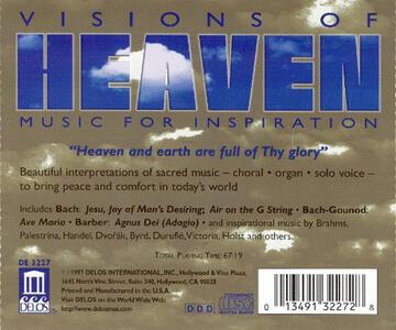 Visions of Heaven - CD Audio