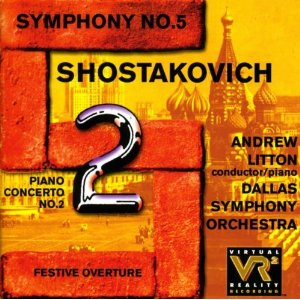 CD Sinfonia n.5 di Dmitri Shostakovich