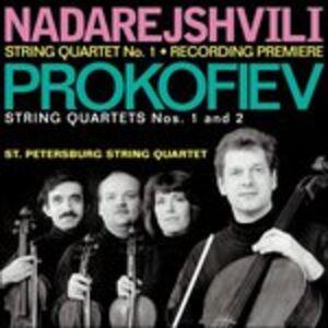 CD Quartetto per Archi n.1 Op.50 di Sergei Sergeevic Prokofiev