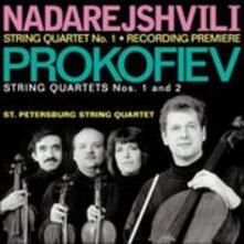 Quartetto per Archi n.1 Op.50 - CD Audio di Sergej Sergeevic Prokofiev