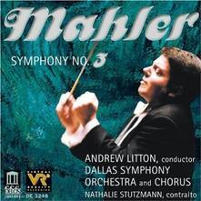 Sinfonia n.3 - CD Audio di Gustav Mahler