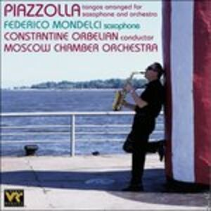 CD Tangos Arranged for Saxop di Astor Piazzolla