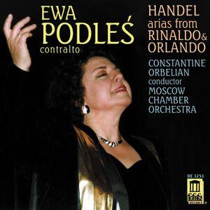 Foto Cover di Arias From Rinaldo & Orla, CD di Georg Friedrich Händel, prodotto da Delos