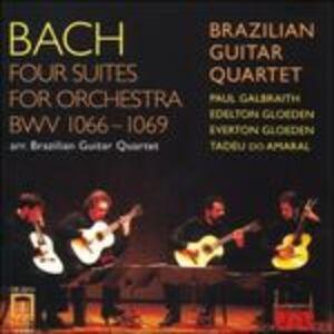 Foto Cover di Suites per orchestra, CD di Johann Sebastian Bach, prodotto da Delos
