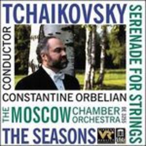 Serenata in Do Maggiore Op.48, Le Stagioni Op.37b - CD Audio di Pyotr Il'yich Tchaikovsky