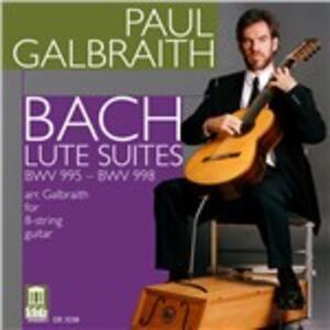 Suites per chitarra - CD Audio di Johann Sebastian Bach
