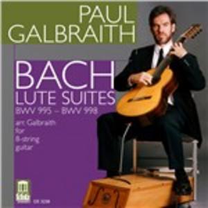 CD Suites per chitarra di Johann Sebastian Bach