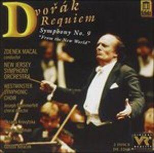 CD Requiem-Sym.no.9 di Antonin Dvorak