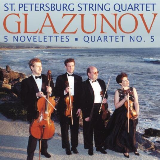 Five Novelettes-Quartet N - CD Audio di Alexander Kostantinovich Glazunov