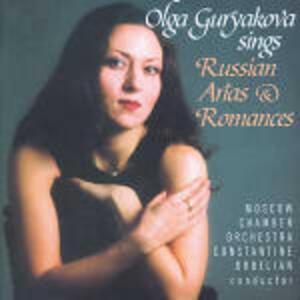 Arie e romanze russe - CD Audio di Constantine Orbelian,Moscow Chamber Orchestra,Olga Guryakova