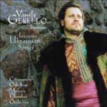 Favorite Ukrainian Songs - CD Audio di Constantine Orbelian