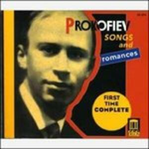 Songs & Romances -Complet - CD Audio di Sergej Sergeevic Prokofiev