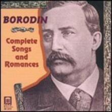 Canzoni e romanze complete - CD Audio di Alexander Porfirevic Borodin
