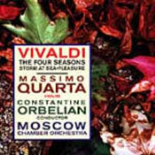 Le quattro stagioni - CD Audio di Antonio Vivaldi,Constantine Orbelian,Moscow Chamber Orchestra,Massimo Quarta