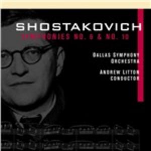 CD Sinfonie n.6, n.10 di Dmitri Shostakovich