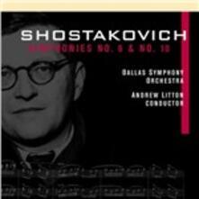 Sinfonie n.6, n.10 - CD Audio di Dmitri Shostakovich