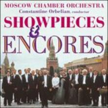 Showpieces & Encores - CD Audio di Moscow Chamber Orchestra