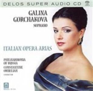 Italian Opera Arias - SuperAudio CD ibrido di Constantine Orbelian,Galina Gorchakova