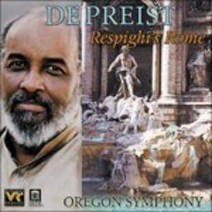 CD Respighi'S Rome di Ottorino Respighi