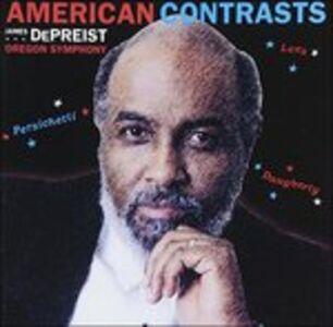 CD American Contrasts - Passacaglia di Benjamin Lees