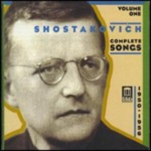 Romanze complete vol.1 - CD Audio di Dmitri Shostakovich