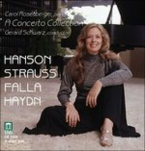 Foto Cover di Carol's Concerto Collection. Concerti per Pianoforte Hobb.xviii.11, Xviii.4, CD di Franz Joseph Haydn,Gerard Schwarz, prodotto da Delos