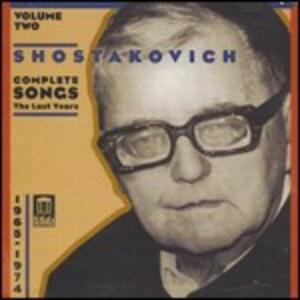 Romanze complete vol.2 - CD Audio di Dmitri Shostakovich