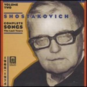 CD Romanze complete vol.2 di Dmitri Shostakovich
