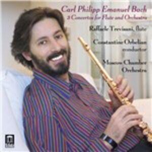 Foto Cover di Concerti per flauto, CD di Carl Philipp Emanuel Bach, prodotto da Delos