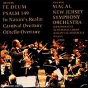CD Te Deum - Salmo 149 di Antonin Dvorak