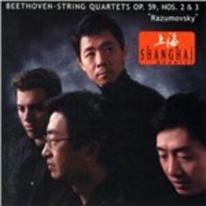 CD Quartetti per archi n.8, n.9 di Ludwig van Beethoven