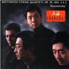 Quartetti per archi n.8, n.9 - CD Audio di Ludwig van Beethoven,Shanghai String Quartet