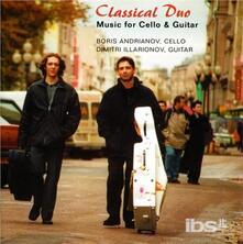 Musica per Violoncello e Chitarra - Concerto per Clavicembalo Bwv 1056 - CD Audio di Johann Sebastian Bach