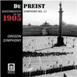 Sinfonia n.11 - CD Audio di Dmitri Shostakovich