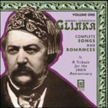 Canzoni e romanze vol.1 - CD Audio di Mikhail Ivanovic Glinka