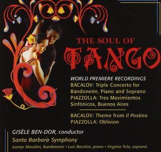 Concerto per soprano, bandoneon e orchestra - Tema da Il postino - CD Audio di Luis Bacalov
