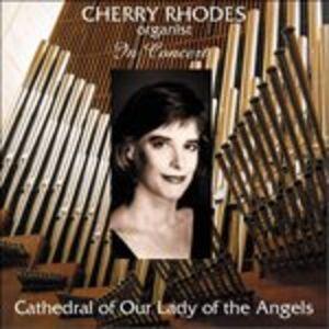 Foto Cover di Cherry Rhodes in Concerto, CD di  prodotto da Delos