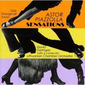 CD Sensations di Astor Piazzolla