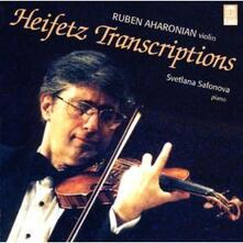 Trascrizioni di Heifetz - CD Audio di Ruben Aharonian