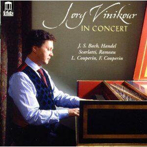 Foto Cover di Jory Vinikour in Concert, CD di Jory Vinikour, prodotto da Delos
