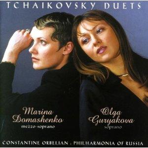 CD Duetti di Pyotr Il'yich Tchaikovsky
