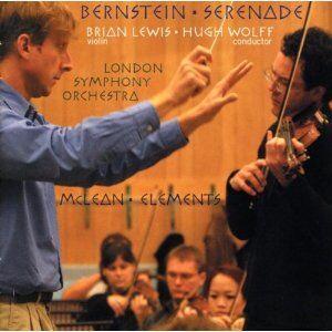 CD Serenata / Elements Leonard Bernstein , Michael McLean